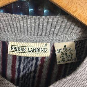 473dd46e Vintage Shirts   Vtg Striped Long Sleeve Henley Shirt   Poshmark